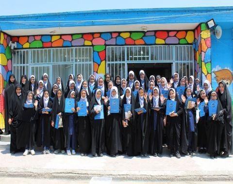 برگزاری ویژه برنامه دهه کرامت و روز دختر در دبستان حمایتی وحدت