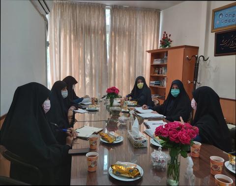 تشکیل نشست تخصصی با محوریت برنامه ریزی و هماهنگی جهت برگزاری اردوهای جهادی تابستان ۱۴۰۰